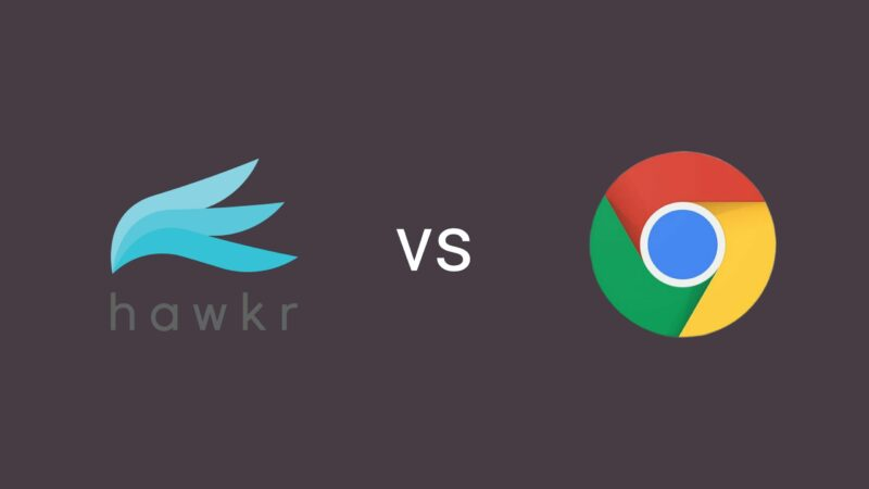 Chromecast vs Hawkr Player